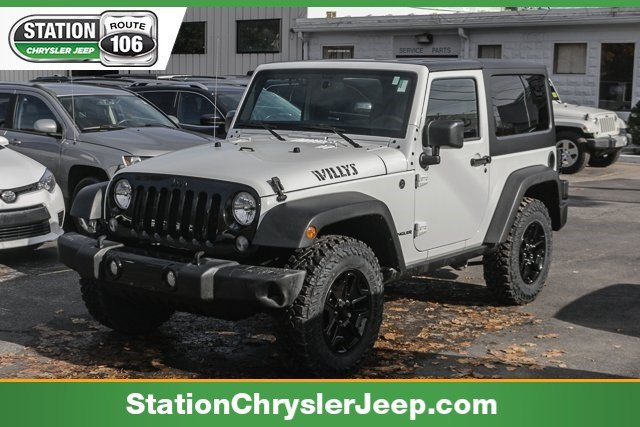 Pre Owned 2015 Jeep Wrangler Willys Wheeler Convertible In Somerset