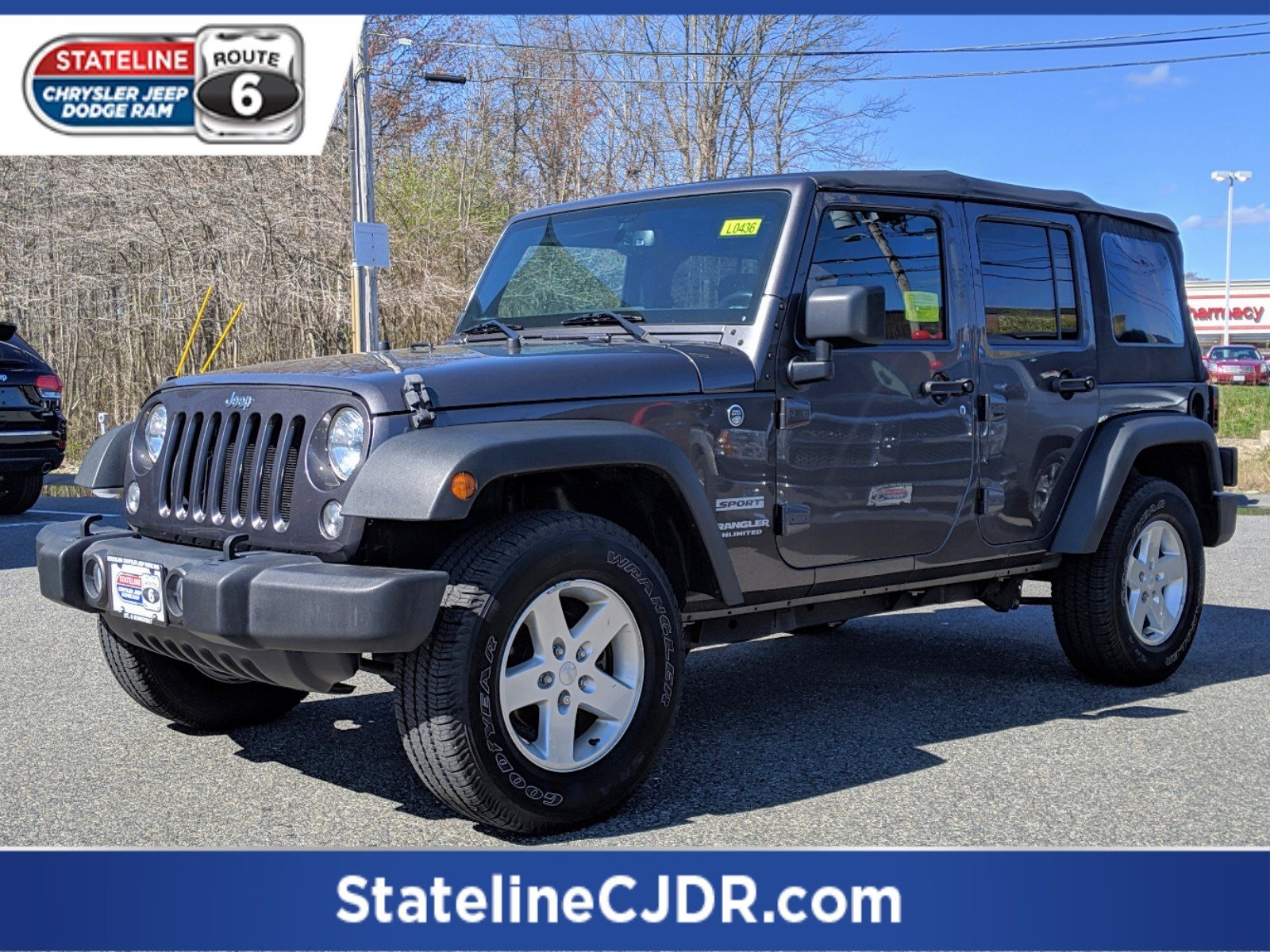 Certified Pre Owned Jeep >> Certified Pre Owned 2016 Jeep Wrangler Unlimited Sport Convertible