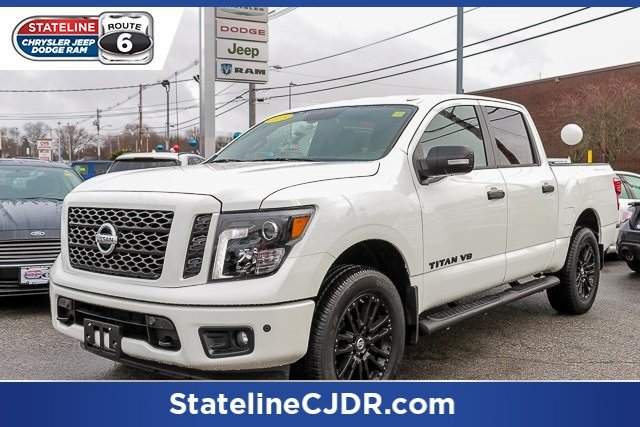 Pre Owned 2018 Nissan Titan Sl Crew Cab Pickup In Somerset K892a