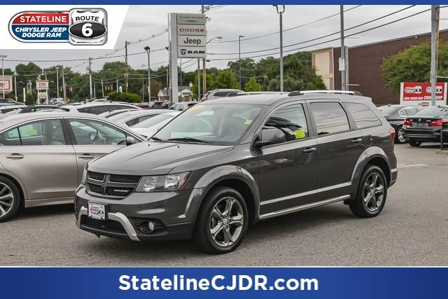 Pre Owned 2015 Dodge Journey Crossroad Sport Utility In Somerset